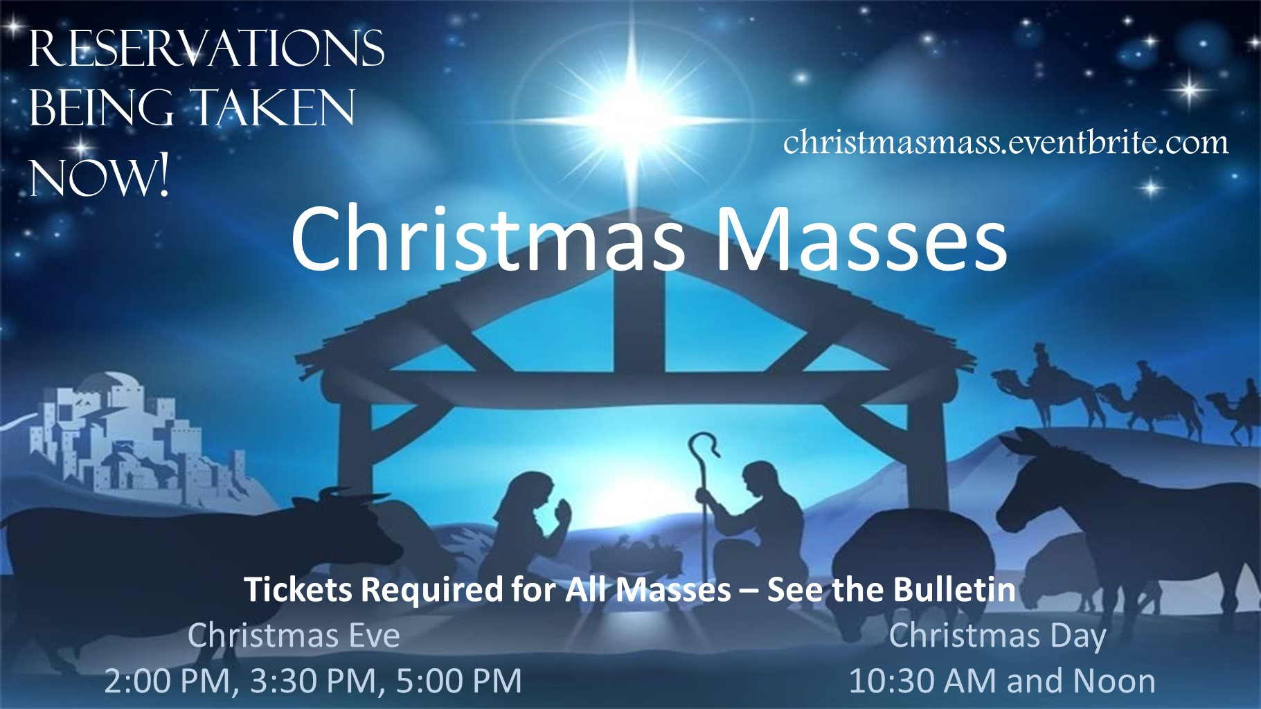 101120 Christmas Mass Reservations