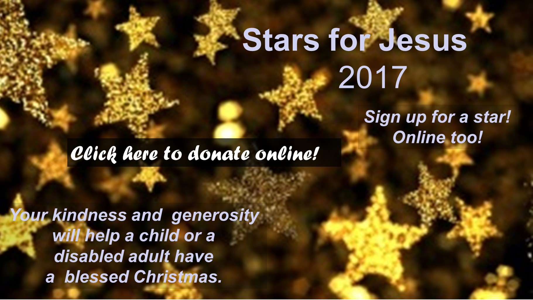 2017 Online Stars for Jesus