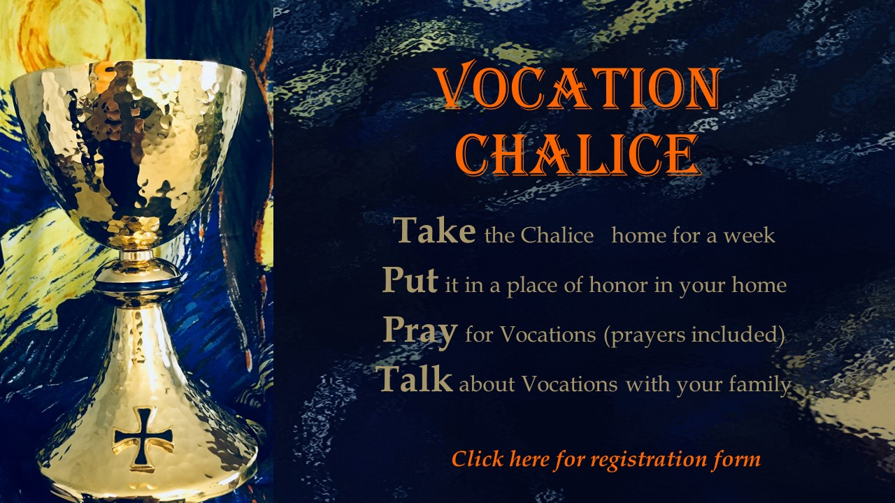 Vocation Chalice slide